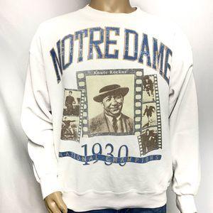 1930 Notre Dame National Champs Crewneck
